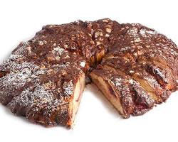 Šokolaadi-pähkli kringel