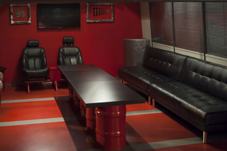 Unibet Go-Kart Centre party room
