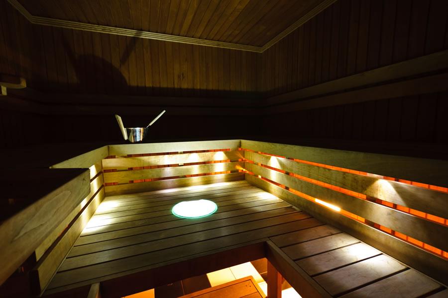 Unibet Kardikeskuse saun