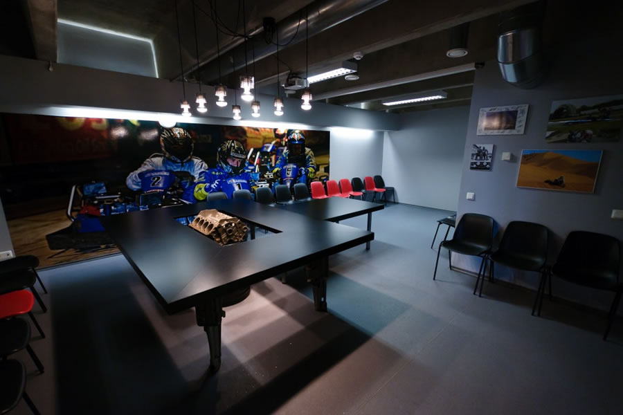Unibet Go-Kart Centre conference room